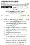 UPTU B.Tech Question Papers -EE-024 - Bio-Instrumentation