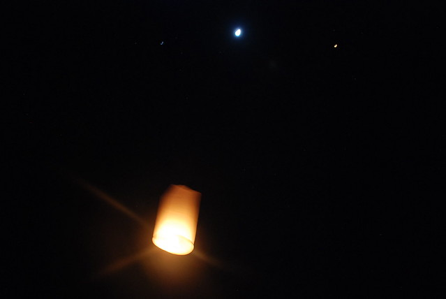 Lantern rising