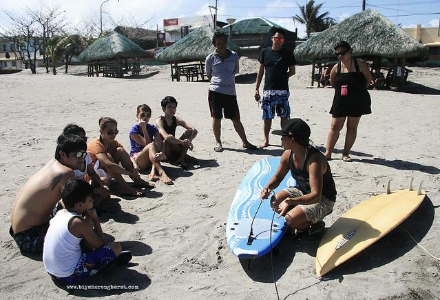 Surf lessons in bagasbas beach daet camarines norte