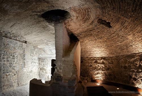 """Uno de los 7 subterráneos que se visitan en la ruta """"Toledo Subterráneo"""""""