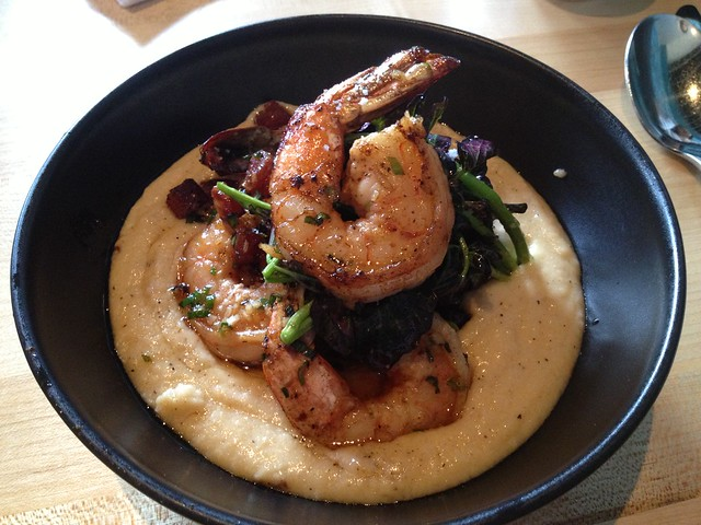 Shrimp and grits - Joule
