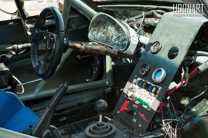 Miata racecar interior