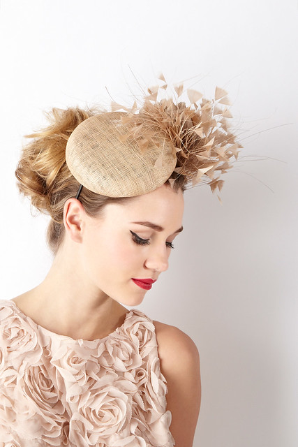 William Chambers Coast double disc floral hat 160