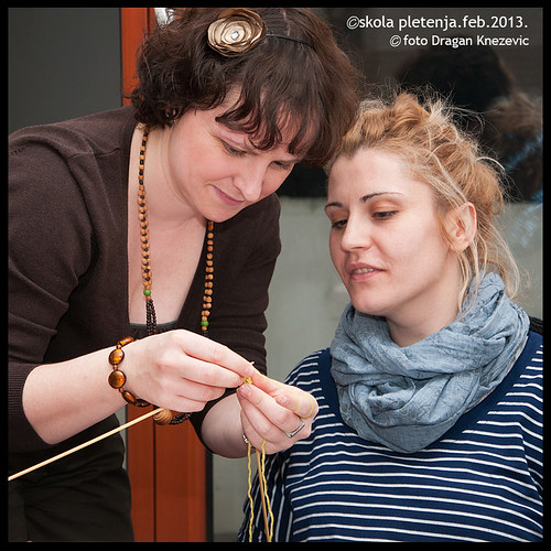begginers in knitting