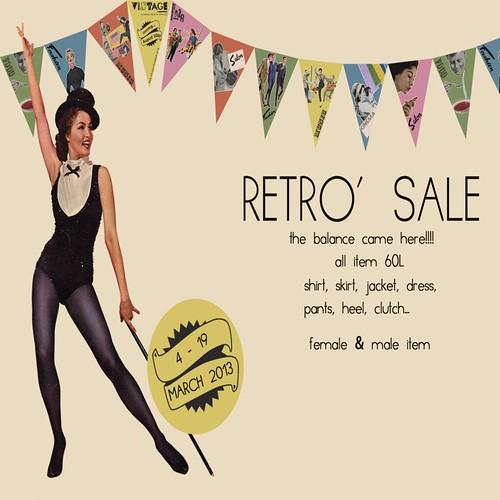 Retro Sale