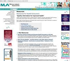 Find a Librarian: Medical Library Association