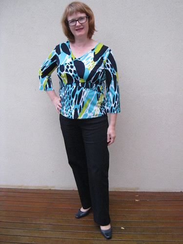 StyleARC Linda Pant with Jalie top