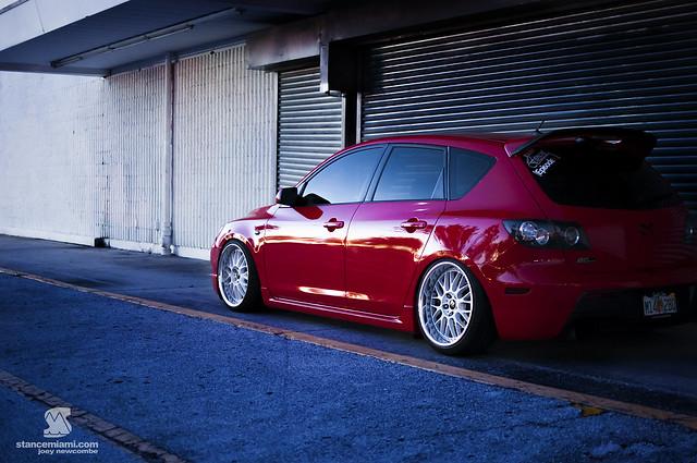 Mazda 3 Side ProfileWM