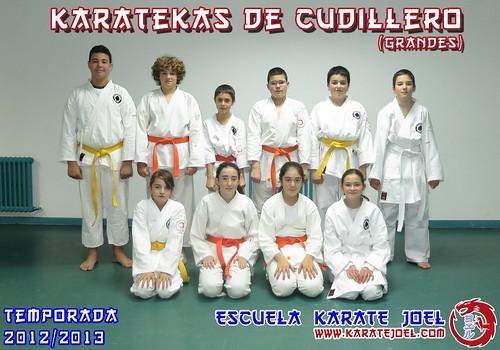 Karatekas de Cudillero (grandes)