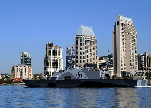 USS Freedom deploys. by Official U.S. Navy Imagery