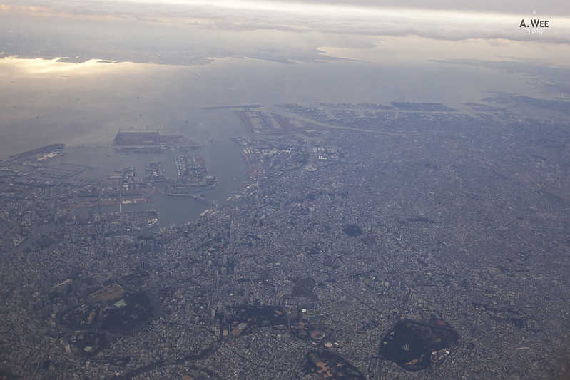City of Tokyo from the Air