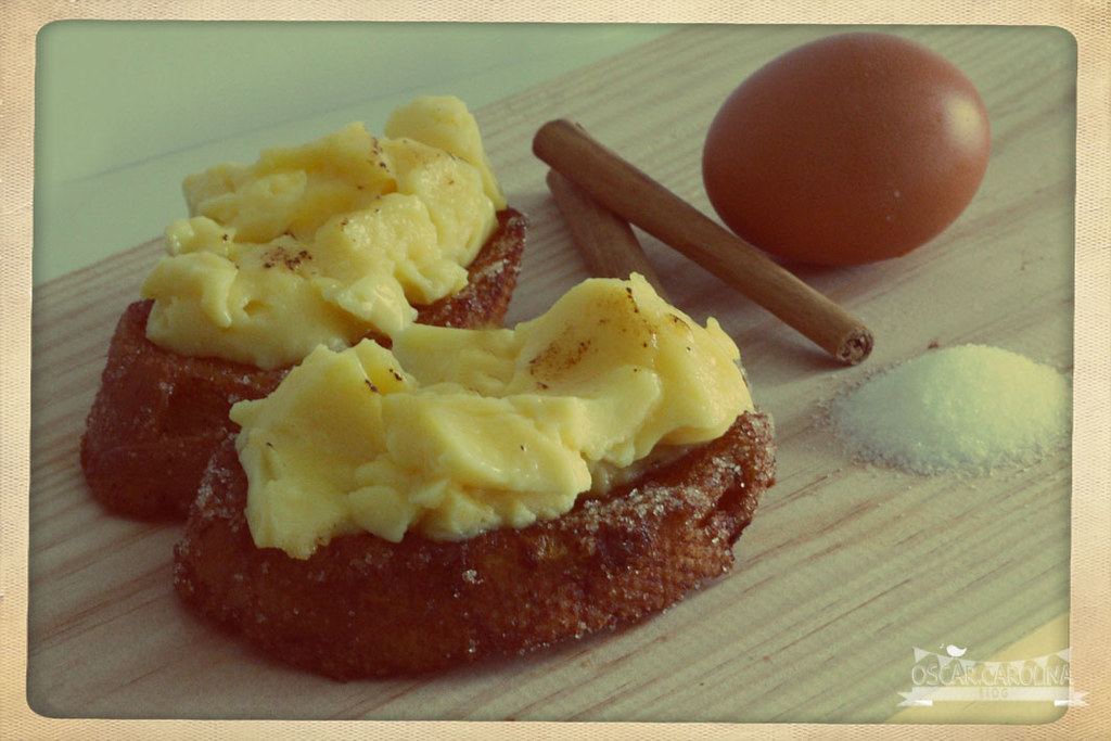 torrijas con crema pastelera2