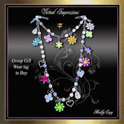 Group Gift, Tina Necklace Spring