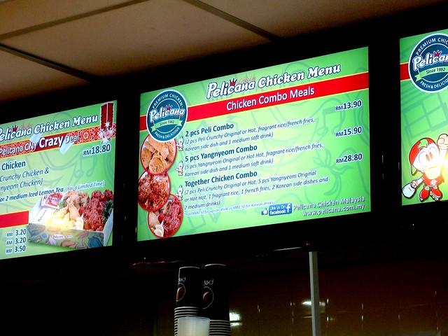 Pelican Chicken Sibu menu