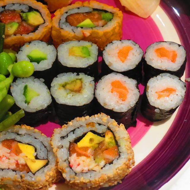Sushi from Wasabi