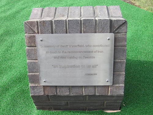 Geoff Waterfield Memorial Sculpture