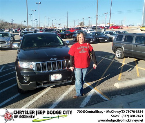 Congratulations to Kari Dickerson on the 2013 Jeep Grand Cherokee by Dodge City McKinney Texas