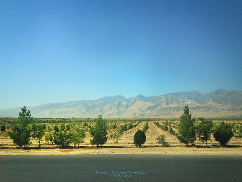 The Kopet Dag Mountains in the Suburbs of Ashgabat