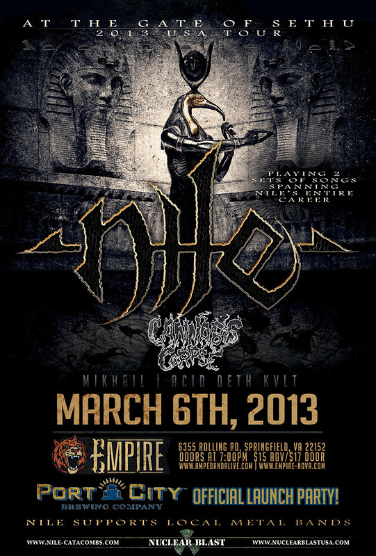 Nile at Empire