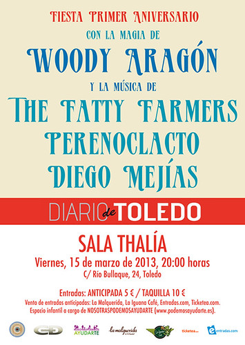 The Fatty Farmers en Concierto Toledo