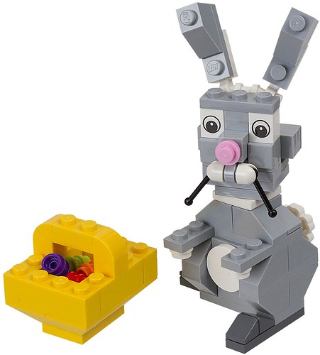 40053 Easter Bunny with Basket