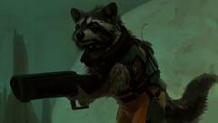 GotG - Rocket Raccoon