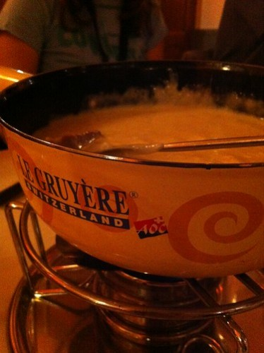 """#Swiss #Fondue is #Magic : La #lift13 """"Ze place to be?"""" YES cc @liftconference @netinfluence @gregoire"""