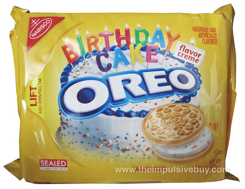 Birthday Cake Golden Oreo