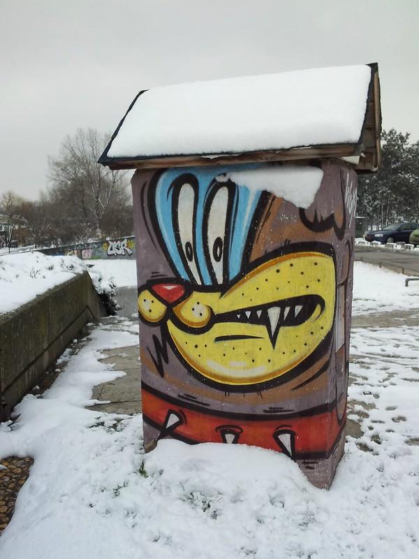 Graffiti Belgrade, Serbia