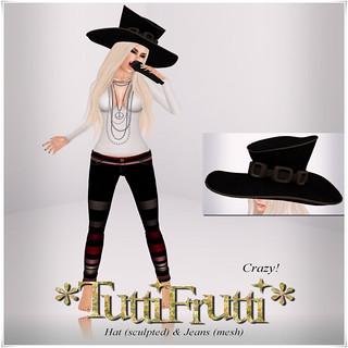 Tutti Frutti - Crazy Hat & Jeans pack - My Attic @ The Deck