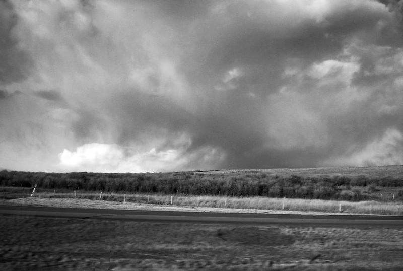 Alberta prairie landscape under big sky