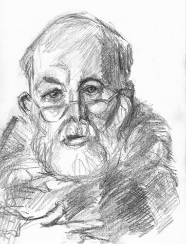 Edward Gorey by husdant