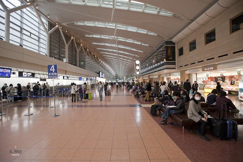 Tokyo Haneda Airport Departures