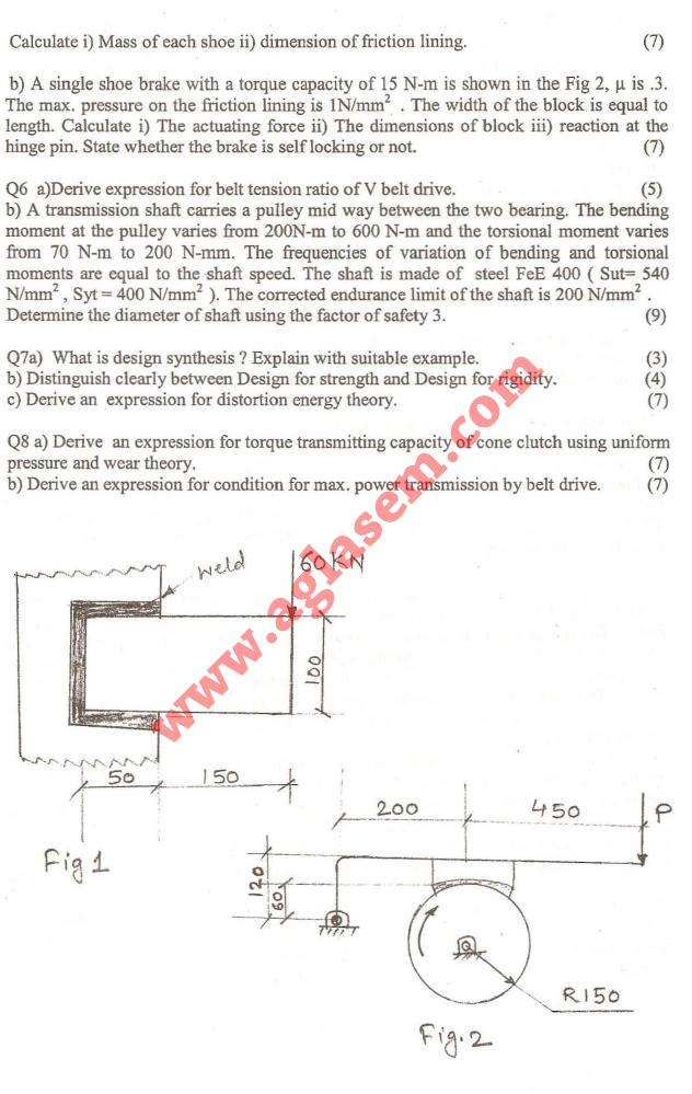 NSIT: Question Papers 2009 – 6 Semester - End Sem - MA-314