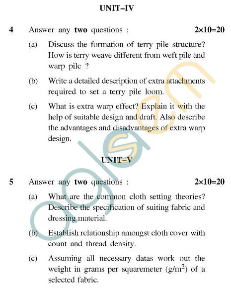 UPTU B.Tech Question Papers - CT604(N) - Carpet & Textile Designing-I