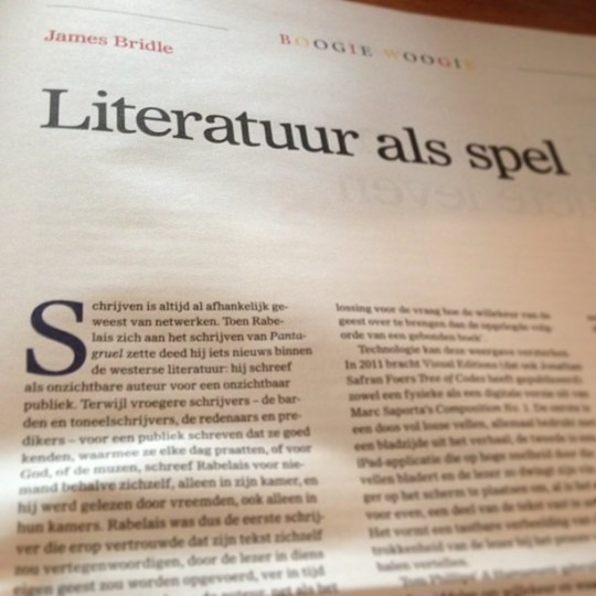 Reading @jamesbridle in Dutch