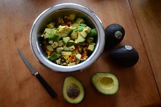 83/365: Avocado Salad - Chopped Avocados
