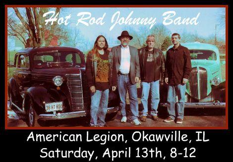 The Hot Rod Johnny Band 4-13-13