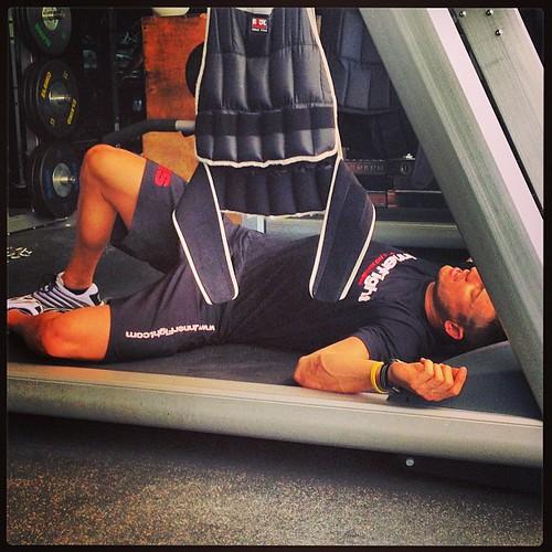 Perfect place to sleep #treadmill #sleep #run #passout