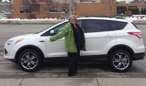 Pickup Up the Ford Escape for LexGoFurther