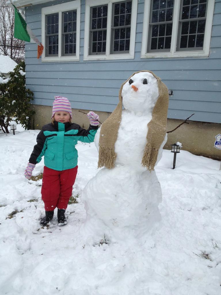 Two Snowwomen