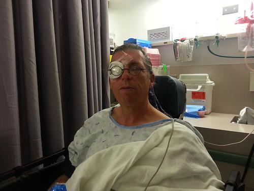 3-6-13 Dave's Eye Surgery 5