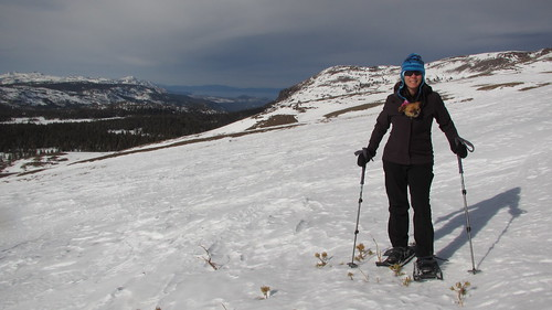 Snowshoeing Carson Pass
