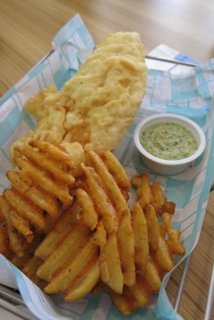 Fish and Chips at Brothers Burger