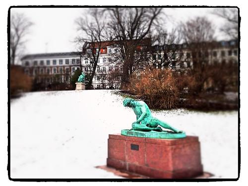 Ørsted park near nørreport st by Ariadni Thread