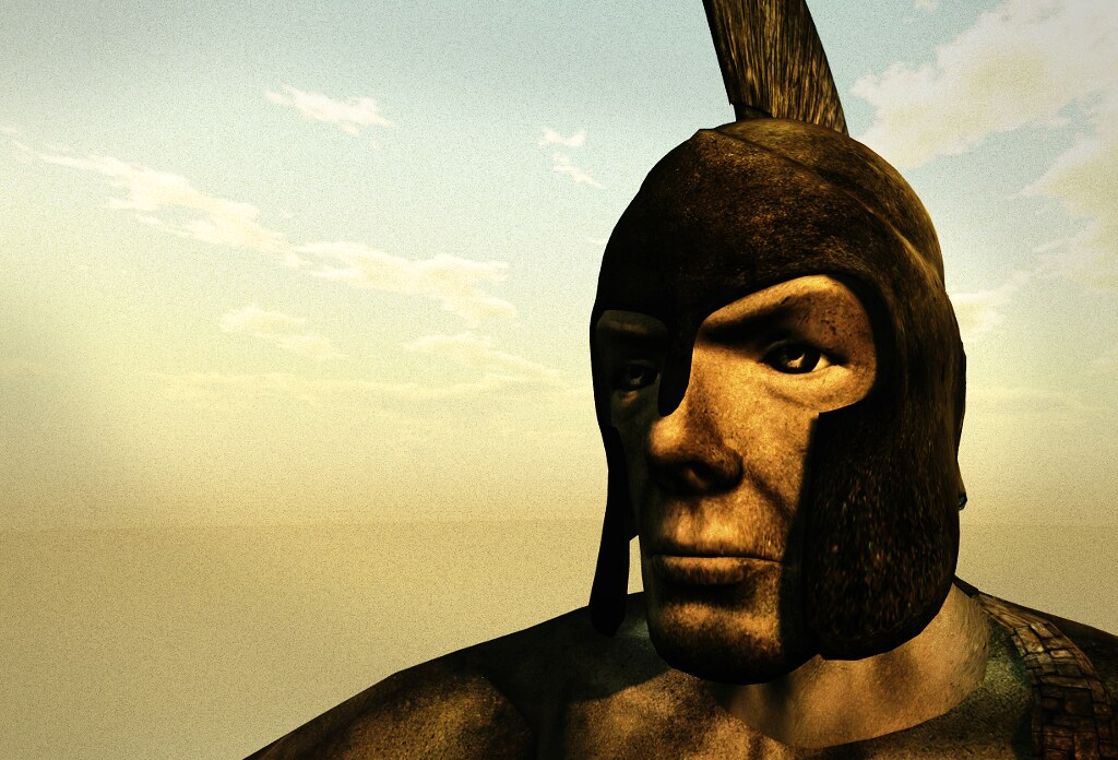 The head of the Colossus of Rhodes in SL