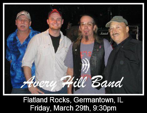 Avery Hill Band 3-29-13
