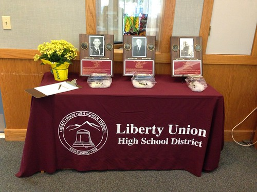 LUHSD Graduates of Distinction welcome