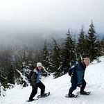 Steep Snowshoe Ascent