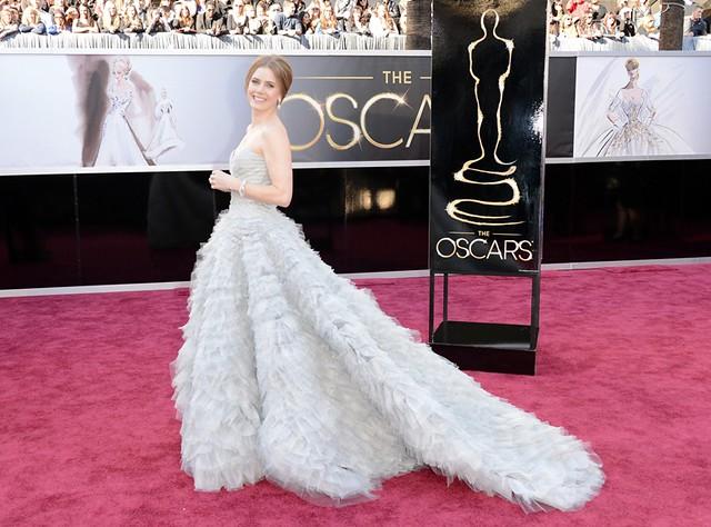 Эми Адамс в Oscar de la Renta